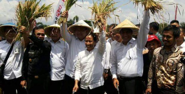 Bupati Ciamis dan 3 Menteri