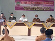 Awali Masuk Kerja, Camat Cihaurbeuti Pimpin Musrenbang